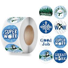 Christmas Themed Reward Stickers Kids Home School Teacher Chart Children 25mm