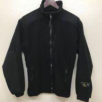 MOUNTAIN HARDWEAR Women's Size 10 Gore Windstopper Black Fleece Jacket