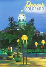 Postcard Colorado Denver State Capitol from 16th St Mall MINT