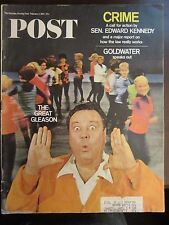 Saturday Evening Post February 1967 The Great Jackie Gleason (D)
