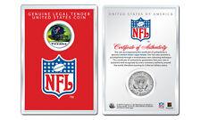 HOUSTON TEXANS NFL Helmet JFK Half Dollar U.S. Coin w/ NFL Display Case LICENSED