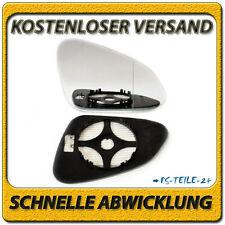 Asphärish Spiegelglas für Opel Insignia 08-16 rechts mit Platte beheizbar