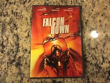 FALCON DOWN OOP VERY GOOD DVD 1999 FIGHTER PILOT ACTION WAR JUDD NELSON, SHATNER