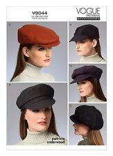 NEW Vogue V9044 9044 Ladies Golf Newsboy Boating Cap Pattern Patricia Underwood