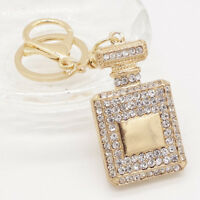 Crystal Rhinestone Pendant Key Ring Bag CZ Keyring Keychain charm Gift hot