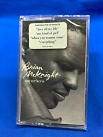 Brian McKnight ‎– Superhero | Cassette Tape Album R&B Soul Hype Sticker [SEALED]