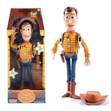 "Toy Story 3 WOODY Pull String 15"" Talking Action Figure Doll Kids Toys"