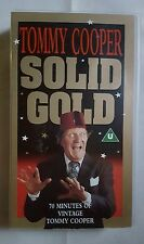 TOMMY COOPER: SOLID GOLD - PTVID8058 - VHS TAPE
