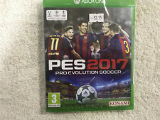 PES2017 PRO EVOLUTION SOCCER XBOX ONE PES 2017 KONAMI NEW SEALED