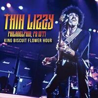 THIN LIZZY-LIVE IN PHILADERPHIA KING BISCUIT Flower Hour 2 CD BONUS TRACK JAPAN