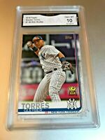 GLEYBAR TORRES ALL STAR ROOKIE 2019 Topps #7 GMA Graded 10 Gem Mint