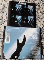 Q-FEEL 1989 RARE CD Dancing In Heaven (Orbital Be-Bop) Red Light Zone Go For It