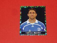 N°422 BORDON SCHALKE 04 PANINI FUSSBALL 2007-2008 BUNDESLIGA FOOTBALL