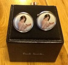 Paul Smith Oval Cufflinks for Men