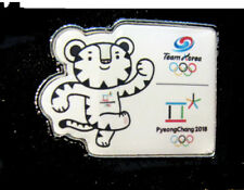 PyeongChang 23rd Winter OLYMPIC NOC SOUTH KOREA Team rare Running Mascot pin