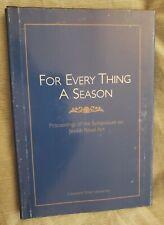 For Every Thing A Season Cleveland Jewish Art Judaica Italian Islam Torah Jews