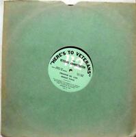 VARIOUS here's to veterans program no. 1454 & 1455 LP VG 73065 Vinyl  Record