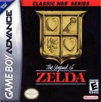 Legend of Zelda Classic NES Series - Game Boy Advance GBA Game