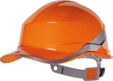 Delta plus diamond hard hat casque sécurité orange Hi Viz Bande Dur Chapeau Venitex