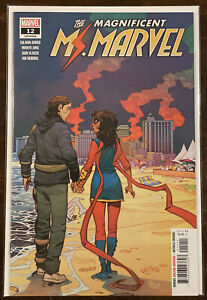 Magnificent Ms Marvel #12 NM 9.4 MARVEL COMICS NEW DISNEY+ SERIES COMING