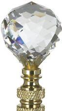 Swarovski Crystal Round Lamp Finial - Nwt