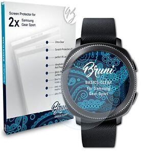 Bruni 2x Protective Film for Samsung Gear Sport Screen Protector