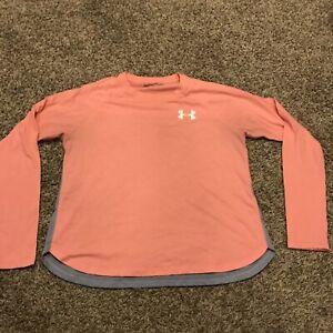 under armour womens S loose heatgear shirt b11