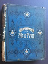 FIRST EDITION 1875 Mark Twain's Sketches New & Old, Samuel L. Clemens, Book