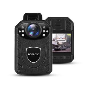 BOBLOV HD 1296P Körper getragener Kamera-Nachtsicht-Recorder IR Night-Vision Kit