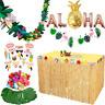 Hawaiian Tropical Foil Balloons Supplies Set Beach Themed Party Decor Balloon