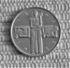 Swiss Silver 5 Franc Coin; Red Cross Centennial 1963