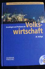Grundlagen u. Probleme der Volkswirtschaft v. Utecht, Baßeler, Heinrich, m.CDROM
