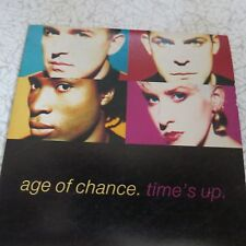 Age Of Chance ��– Time's Up mini-CD single