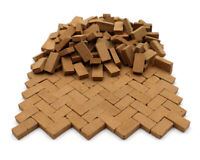 1/16 Scale Model Clay Bricks for Modelling Wall, Floor and Dollhouses