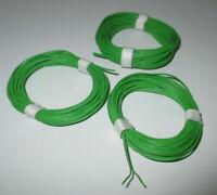 [0,33 €/ M] Double Brin Vert/Vert - Mince 2 x 10 x 0,1 3 X 5m Neuf