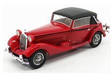 1:43 Kess 1931 Alfa Romeo 6C 1750 GTC Castagna red with black top KE43000300