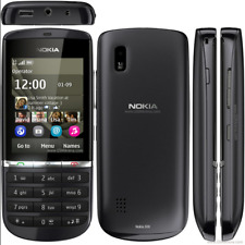 NOKIA Asha 300 Graphite *3G* Unlocked New Touch & Type 5MP Camera PHONE GENUINE