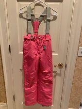Trespass Coloheat Youth Size 11-12 Waterproof Snow Bib / Ski Pants Pink