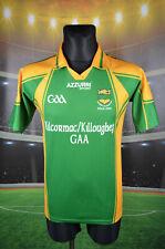 KILCORMAC/KILLOUGHEY GAA AZZURRI GAA GAELIC SHIRT (XS) IRELAND TRIKOT TOP MENS