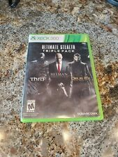 Ultimate Stealth Triple Pack -- XBOX 360 -- CONDITION B+