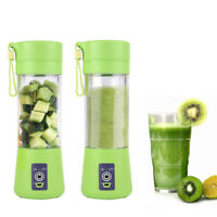 Portable Bottle USB Mini Juice Blender Shaker Vegetable Fruit Mixer Maker