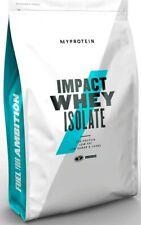 MyProtein 2,5kg Impact Whey Isolate Isolat Eiweiß 90% hochwertiges Protein 2500g