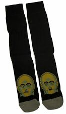 MENS / GENTS STAR WARS C3PO SEE THREEPIO BLACK SOCKS ONE SIZE UK 9-12 BNWT