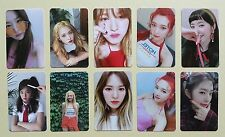 Red Velvet Red Flavor Official Photocard Photo Card Set (10 pcs)