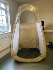 pop up spray tan tent Sienna X Spray Tan Equipment Gold Cubicle tanning