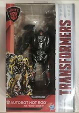 Hasbro Transformers The Last Knight Deluxe Class  Auto bot Hot Rod