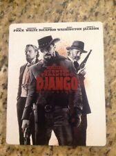 Django Unchained (Blu-ray Disc, 2014, SteelBook)Authentic US Release