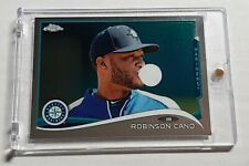 2014 Topps Chrome ROBINSON CANO Photo Var SP Bubble Variation Parallel RARE
