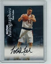 1999-00 SKYBOX AUTOGRAPHICS TODD FULLER ON-CARD AUTO