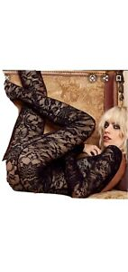 Courtney Love X Nasty Gal Lace Catsuit